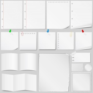 13622854 - set of different paper